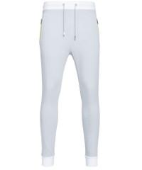 Sweatpants in Hellgrau - Taschen mit Zip
