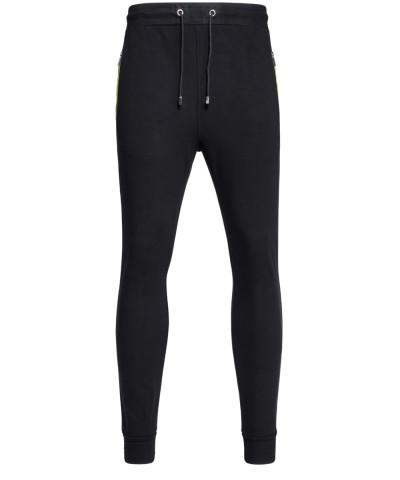 Sweatpants in Schwarz - Taschen mit Zip